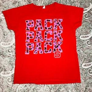 NC State Wolfpack Red T-shirt
